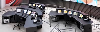Low Profile Computer Desk by Lcd 3 Low Profile Control Room Consoles Winsted