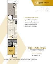 One Bedroom Townhomes For Rent by Townhomes For Rent In Woodlands Tx Townhomes At Woodmill Creek