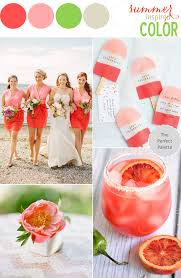 Two Tone Color Schemes by Sweet Summer Romance A Palette Of Shades Of Pink Green White