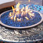Fire Pit Crystals - fire pit artistic fire pit with glass crystals portable round