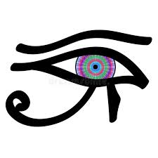 eye of horus stock vector illustration of esoteric 48159367