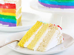how to make a stunning rainbow cake with gold ombre layers fn