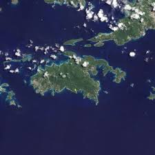 Satellite Map Of Florida by St John U S Virgin Islands Image Of The Day