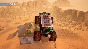 monster jam truck games monster jam crush it crash mode pack on ps4 official