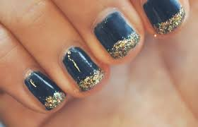 easy nail art glitter easy glitter nail art sweet picture with diy glitter nail art at