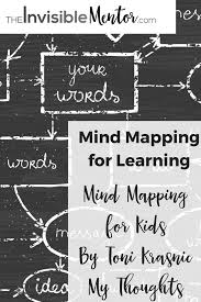 Maps For Kids Mind Mapping For Learning Mind Mapping For Kids By Toni Krasnic