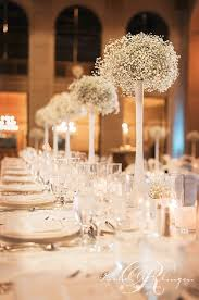 weddings at one king west baby s breath is back wedding decor