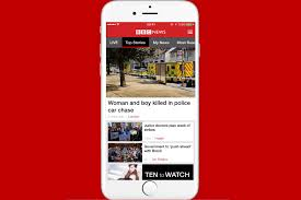 the bbc news app is rolling out vertical video in its latest