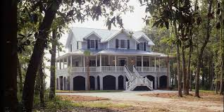 charleston home southern house and beams