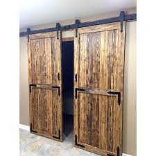 Barn Door Hardware Kit Cheap by Amazon Com Yaheetech 12 Ft Double Antique Country Style Black