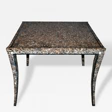 maitland smith maitland smith tessellated marble game table