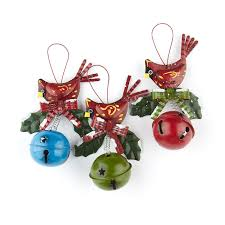 cardinal jingle bell ornament ornaments