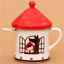 cool cups in the hood little red riding hood fairy tale cup wolf decole otogicco cups
