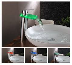 Led Bathroom Faucet Designer Bathroom Sink Faucets Classy Design Contemporary Bathroom