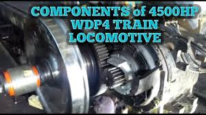 components in wdp4 hhp diesel engine train locomotive mechanics