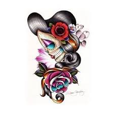 flower and day of the dead design