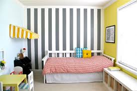 home decor painting ideas decorations captivating teen bedroom style with striped wall