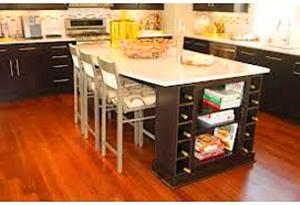 kitchen islands with wine racks kitchen island with wine storage kitchen ideas
