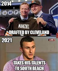 Johnny Meme - johnny manziel browns meme google search sports humor