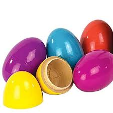 wooden easter eggs that open candy hiding wooden easter eggs oompa toys