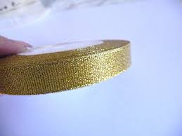 gold metallic ribbon gold ribbon golden ribbon mesh ribbon net ribbon metallic