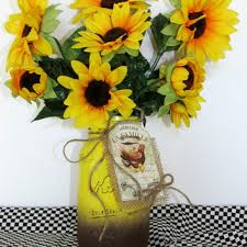 Sunflower Centerpieces Shop Sunflower Country Wedding On Wanelo