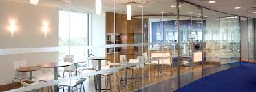 Glass Partition Walls For Home by Interior Glass Walls And Doors
