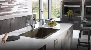 Interior Design Of Kitchens Stainless Steel Sinks And Faucets For Kitchens And Baths