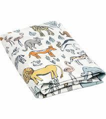 Dwell Crib Bedding Dwellstudio Safari Fitted Crib Sheet