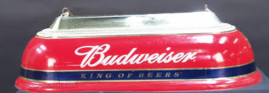 budweiser pool table light with horses hanging plastic budweiser pool table light
