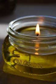 scented indoor l oil olive oil candles super easy oil and easy
