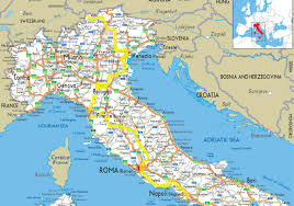 Italy Physical Map by Geography Blog Detailed Map Of Italy
