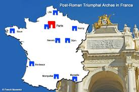 Marseille France Map by Top 10 Post Roman Triumphal Arches In France French Moments