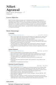 Systems Analyst Resume Sample by It Analyst Resume Samples Visualcv Resume Samples Database