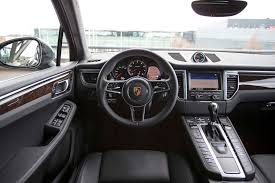 white porsche red interior 2015 porsche macan s macan turbo first test motor trend