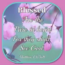 quote pure heart matthew 5 8 kjv blessed are the pure in heart for they shall see