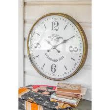 large wall clock clocks on sale bellacor