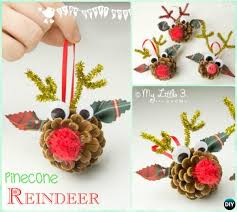 pine cone decoration ideas diy kids pine cone craft ideas projects picture