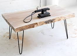 Dyi Coffee Table My Diy Wood Slab Coffee Table