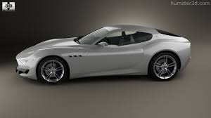maserati white sedan 360 view of maserati alfieri 2014 3d model hum3d store