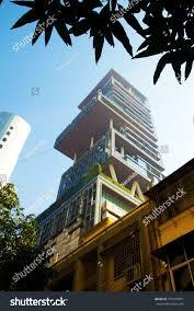 world most expensive house mumbai india january 2014 ambani house stock photo 755479351