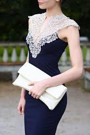 dress navy prom dress lace dress white lace navy dress blue