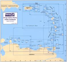 St Lucia Map Guadeloupe To St Lucia Passage Chart A4 Stanfords