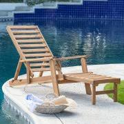 Outdoor Wood Chaise Lounge Outdoor Chaise Lounges Black Friday Deals Through 11 29