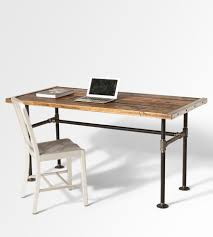 the lupita reclaimed wood desk whether it u0027s serving as a base