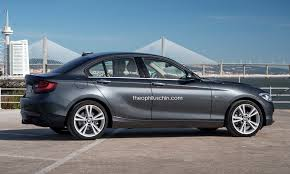 bmw one series india bmw 1 series sedan fwd ukl based side render indian autos