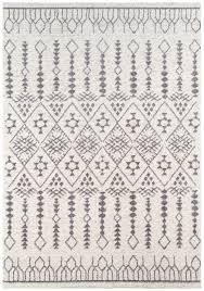 Boho Area Rugs Moroccan Bohemian Ivory Area Rug Woodwaves