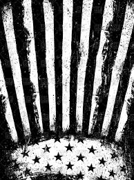 Black And White American Flag American Flag Background Royalty Free Vector Clip Art Image