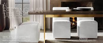 all rectangular tables rh modern