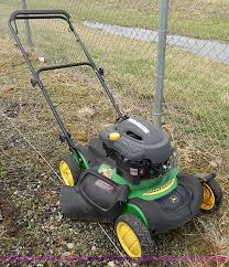john deere js60 self propelled push mower item az9901 so